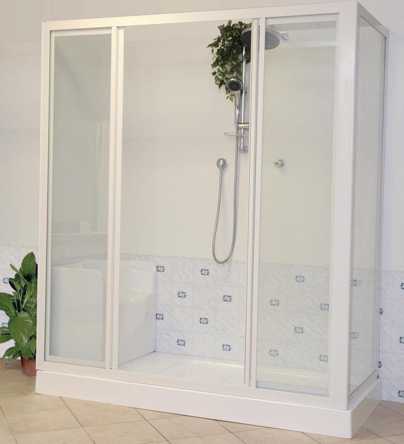 Trasformazione vasca in doccia ditta urso pietro milano - Soluzioni vasca doccia ...