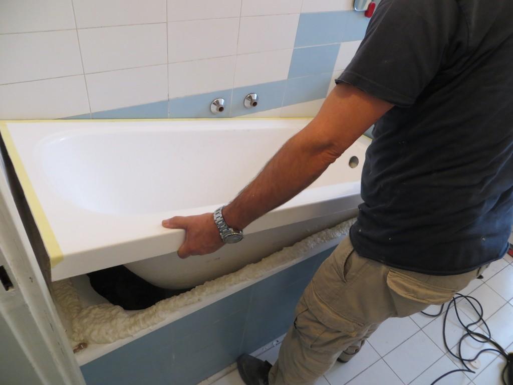 Sovrapposizione vasca nuova su vecchia 2