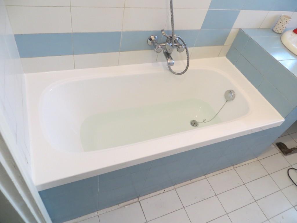 Sovrapposizione vasca da bagno ditta urso pietro milano